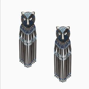 NWOT Stella & Dot Embellished Panther Chandeliers